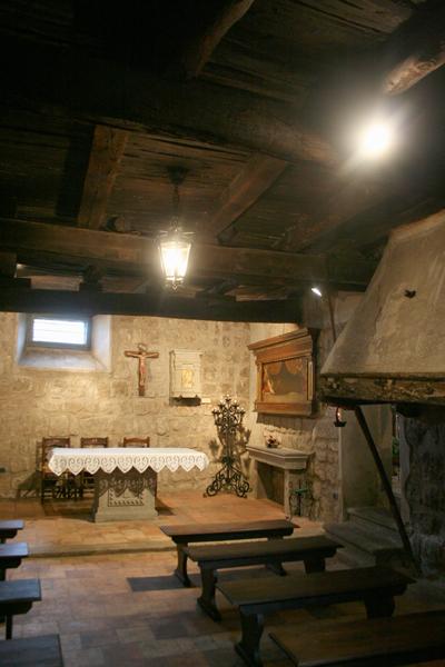 Museo della casa di santa rosa roma artigiana creativa for Planimetrie della casa di piantagione