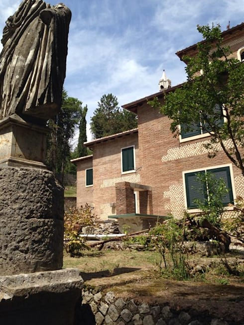 Villa manni 1 roma artigiana creativa - Portale architetti roma ...